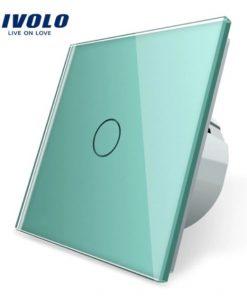 Elegantný dotykový vypínač č.1 v zelenom prevedení
