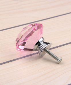 Rúčka pre nábytok DIAMAND, ružová farba, 40mm (1)