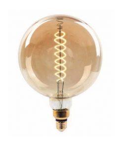 Edison Soft Filament žiarovka, EARTH - 8W, E27, 500lm, Stmievateľná, Teplá biela