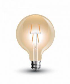 FILAMENT žiarovka - Gate Shines - E27, 4W, 400lm, Teplá biela