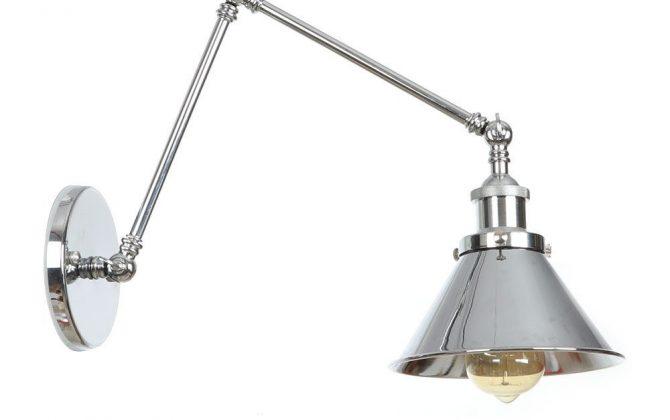 Nástenná historická lampa Provence v striebornej farbe 1 670x420 - Nástenná historická lampa Provence v striebornej farbe