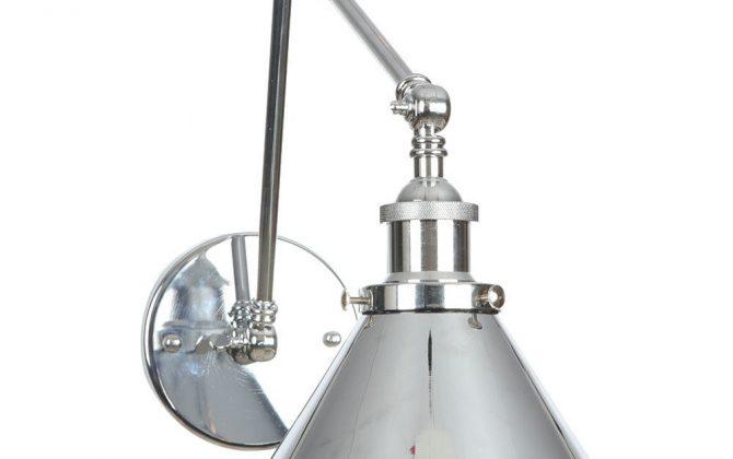 Nástenná historická lampa Provence v striebornej farbe 4 670x420 - Nástenná historická lampa Provence v striebornej farbe