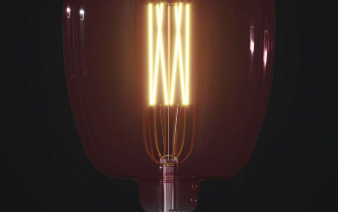Farebná LED žiarovka BERRY RED BONA E27 4W 100lm Stmievateľná 670x420 - Farebná LED žiarovka BERRY-RED BONA - E27, 4W, 100lm, Stmievateľná