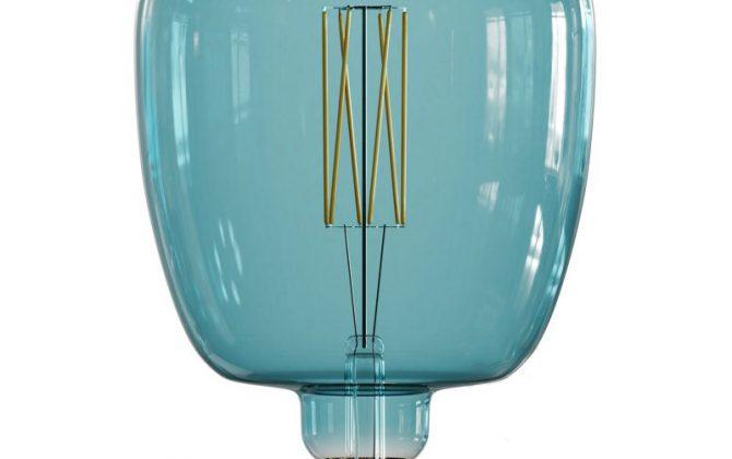 Farebná LED žiarovka OCEAN BLUE BONA E27 4W 100lm Stmievateľná 670x420 - Farebná LED žiarovka OCEAN-BLUE BONA - E27, 4W, 100lm, Stmievateľná