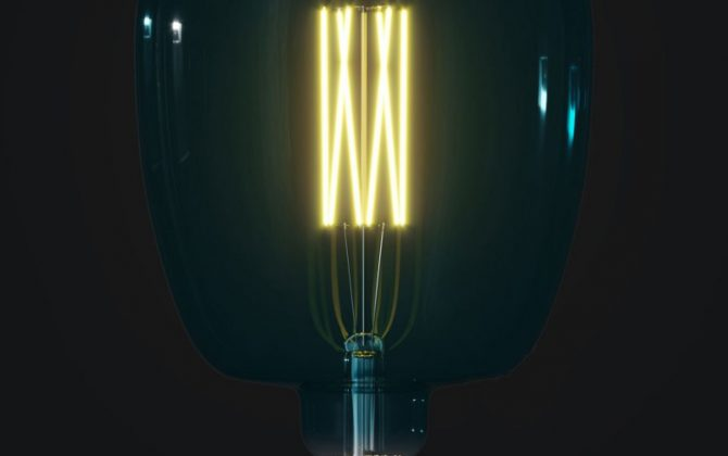 Farebná LED žiarovka OCEAN BLUE BONA E27 4W 100lm Stmievateľná. 670x420 - Farebná LED žiarovka OCEAN-BLUE BONA - E27, 4W, 100lm, Stmievateľná