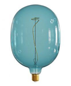 Farebná LED žiarovka OCEAN-BLUE EGG - E27, 4W, 100lm, Stmievateľná