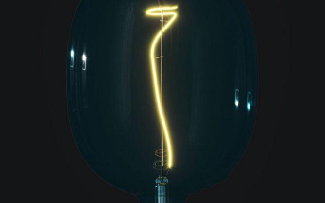 Farebná LED žiarovka OCEAN BLUE EGG E27 4W 100lm Stmievateľná. 670x420 - Farebná LED žiarovka OCEAN-BLUE EGG - E27, 4W, 100lm, Stmievateľná