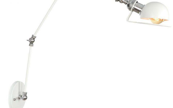 Historická nástenná lampa Magnum v dekoračnom štýle v bielej farbe 1 1 670x420 - Historická nástenná lampa Magnum v dekoračnom štýle v bielej farbe