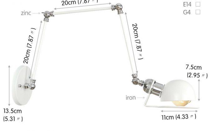 Historická nástenná lampa Magnum v dekoračnom štýle v bielej farbe. 670x420 - Historická nástenná lampa Magnum v dekoračnom štýle v bielej farbe