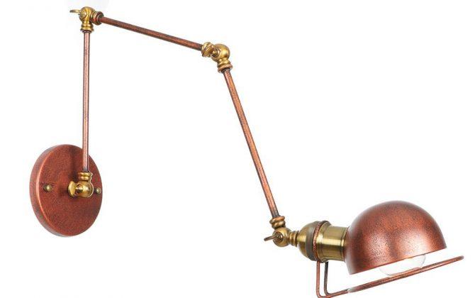 Historická nástenná lampa Magnum v dekoračnom štýle v zlato medenej farbe 1 1 670x420 - Historická nástenná lampa Magnum v dekoračnom štýle v zlato medenej farbe