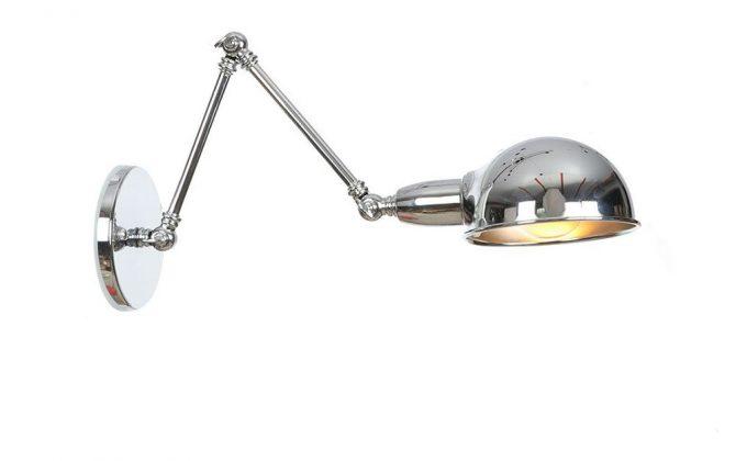 Historické nástenné svietidlo Bedside15 s nastaviteľným ramenom v striebornej farbe 670x420 - Historické nástenné svietidlo Bedside15 s nastaviteľným ramenom v striebornej farbe