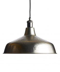 Ručne kované závesné svietidlo INDUSTRIAL BRONZE v bronzovej farbe