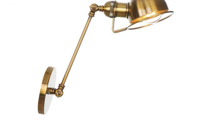 Vintage nástenná lampa Masel20 v zlatej farbe 670x420 - Vintage nástenná lampa Masel20 v zlatej farbe