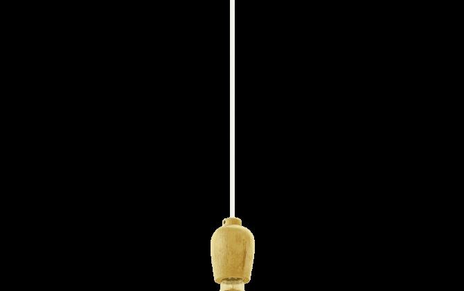 Závesné drevené svietidlo s textilným káblom v bielej farbe. 670x420 - Závesné drevené svietidlo s textilným káblom v bielej farbe
