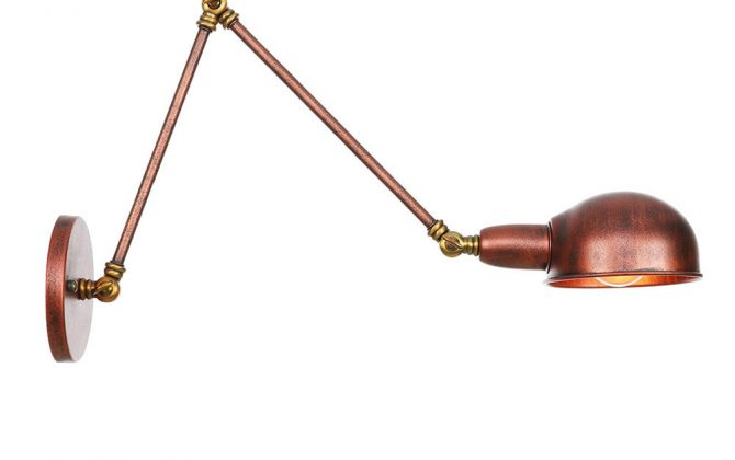 ňHistorické nástenné svietidlo Bedside30 s nastaviteľným ramenom v zlato medenej farbe.. 670x420 - Historické nástenné svietidlo Bedside30 s nastaviteľným ramenom v zlato medenej farbe