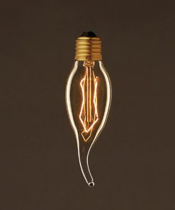 EDISON žiarovka - DECOR CANDLE - E27, 25W, 60lm