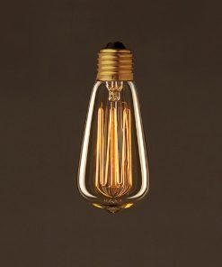EDISON žiarovka - MINI TEARDROP - E27, 25W, 60lm