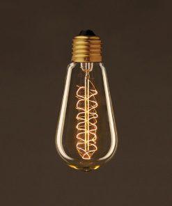 EDISON žiarovka - SPIRAL LANTERN - E27, 25W, 60lm | Amarcords