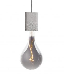 Závesné svietidlo SIMPLE RECTANGLE vyrobené z recyklovaného papiera
