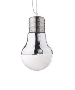 Kreatívne sklenené svietidlo LUCE CROMO SP1 BIG | Ideal Lux