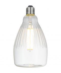 LED Filament kryštálová žiarovka REA, E27, 6W, 600lm