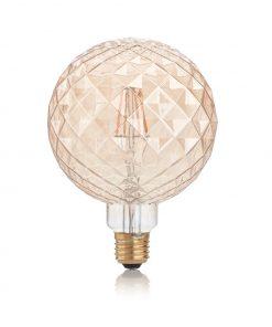 Žiarovka Filament VINTAGE PEARL, E27, 4W, 380lm, Teplá biela | Ideal Lux