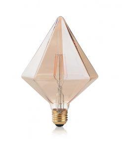 Žiarovka Filament VINTAGE PYRAMID, E27, 4W, 380lm, Teplá biela | Ideal Lux