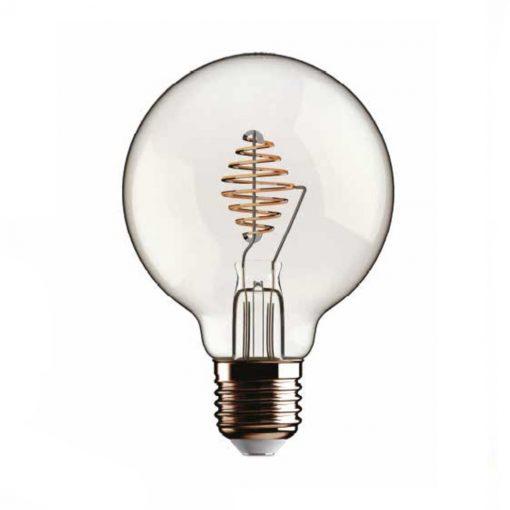 Beauty Eddy Led - patentovaná žiarovka - GLOBO 2.5W, E27, 230lm, Stmievateľná | Daylight Italia