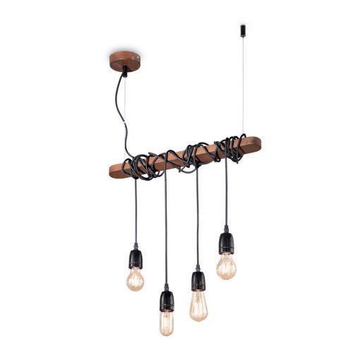 Kovový luster so 4 svietidlami ELECTRIC SP4 | Ideal Lux