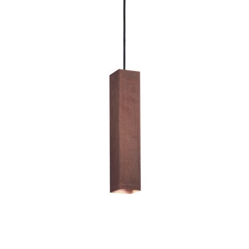 Moderné kuchynské závesné svietidlo SKY SP1 v hrdzavej farbe
