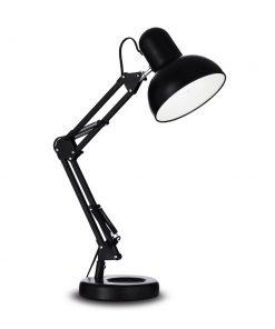 Retro stolové svietidlo KELLY TL1 v čiernej farbe| Ideal Lux