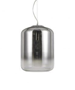 Sklenené svietidlo KEN SP1 BIG s dymovým tienidlom | Ideal Lux