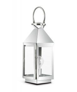 Vintage stolová lampa MERMAID TL1 SMALL v chrómovej farbe | Ideal Lux