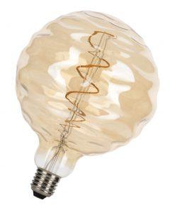 LED Žiarovka Big Joey Gold, G150, E27, 3W, 2200K, 120lm, Stmievateľná