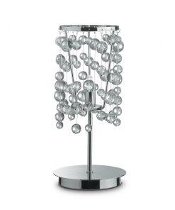 Stolná lampa NEVE TL1 v chrómovej farbe | Ideal Lux