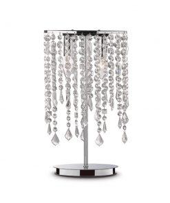 Stolná lampa RAIN CLEAR TL2 v chrómovej farbe | Ideal Lux