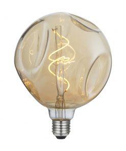 Vintage Filament žiarovka LUXURY G140, zlatá - 5W, E27, 250lm, Stmievateľná, Teplá biela | Daylight Italia