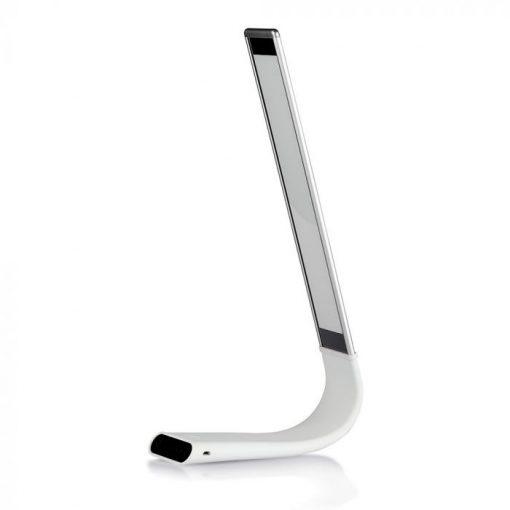 Moderná stolová lampa s dotykovým ovládním v bielej farbe, 6.5W, 100lm