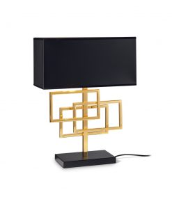 Moderná stolová lampa v mosádznej úprave LUXURY TL1 | Ideal Lux