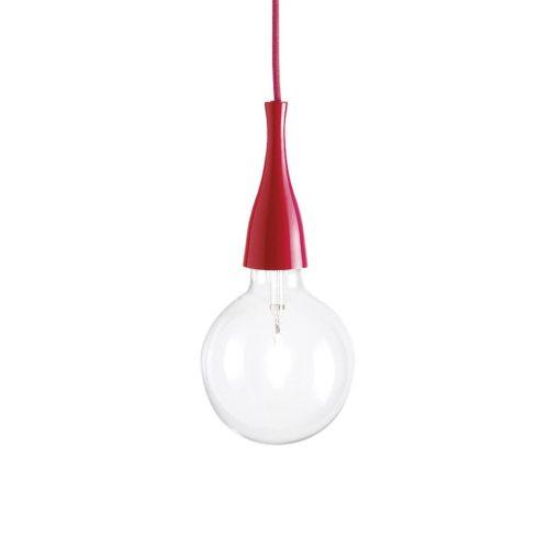 Moderné štýlové svietidlo v červenej farbe MINIMAL SP1 | Ideal Lux