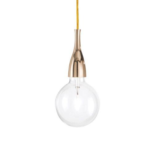 Moderné štýlové svietidlo v zlatej farbe MINIMAL SP1 | Ideal Lux