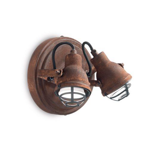 Nástenná lampa v priemyselnom štýle BOB MINI AP2 | Ideal Lux