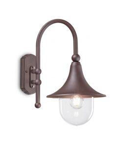 Nástenné vonkajšie svietidlo v kávovej farbe IP43, CIMA AP1 | Ideal Lux