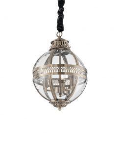 Sklenené svietidlo s dymovým tienidlom BLOSSOM SP1 FUMÈ | Ideal Lux