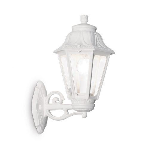Vonkajšia lampa v klasickom štýle, biela farba, IP44, ANNA AP1 BIG