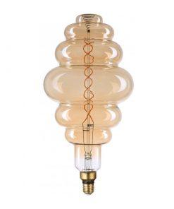 Filament LED žiarovka Bixby, E27, 8W, 500lm, Stmievateľná, Teplá biela | Avide
