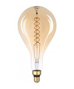 Filament LED žiarovka Rialto, E27, 8W, 500lm, Stmievateľná, Teplá biela | Avide