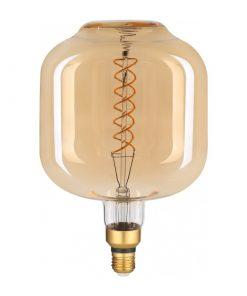 Filament LED žiarovka Ross, E27, 8W, 500lm, Stmievateľná, Teplá biela | Avide.