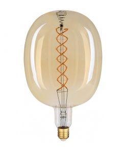 Filament LED žiarovka Vasco, E27, 8W, 500lm, Stmievateľná, Teplá biela | Avide