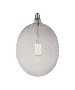 LED Filament kryštálová žiarovka BELLALUCE LINE, E27, 10W, 2700K, 1000lm.